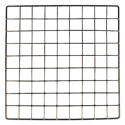 KC Store Fixtures A04108 Mini Grid, 14'' x 14'', Black (Pack of 48)