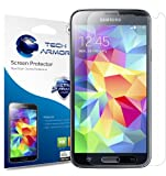 Galaxy S5 Screen Protector, Tech Armor High Definition HD-Clear Samsung Galaxy S5 Film
