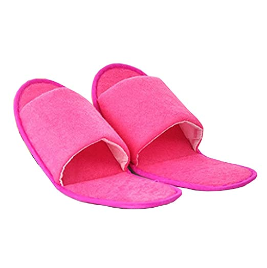63219395d0575 Comfysail Soft Folding Travel Slippers Flip Flop with Portable Bag