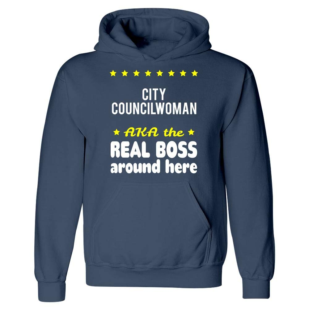 Hoodie City Councilwoman AKA The Real Boss Around Here