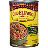 OLD EL PASO Refried Beans with Mild Green Chilies, 398 Milliliter