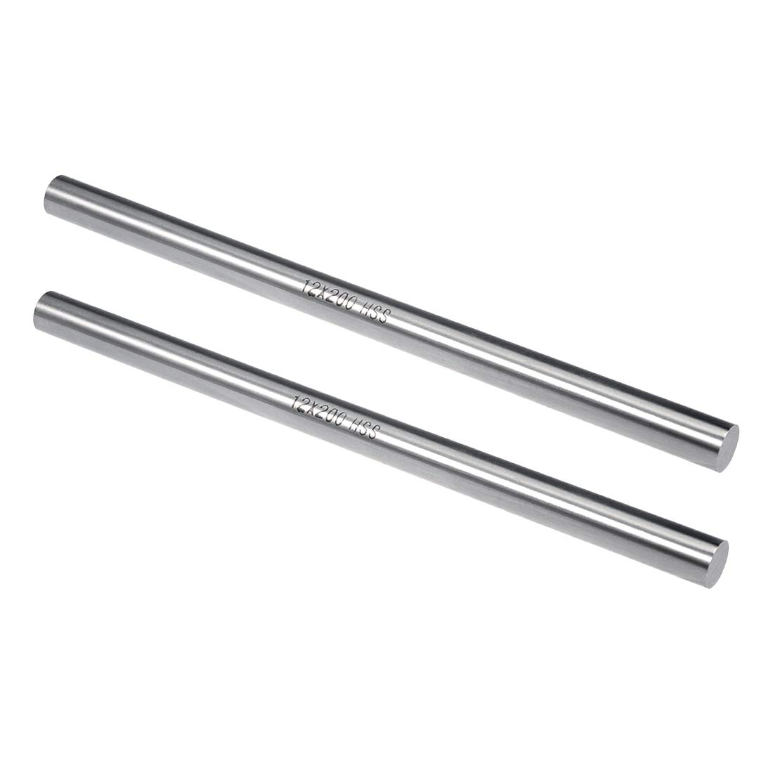 for Shaft Miniature Axle DIY Craft Tool 2 Pcs uxcell Round Rod 7.5mm Diameter 200mm Length HSS Lathe Bar Stock