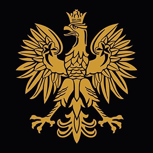 - Polish Gold Eagle Symbol Emblem Coat of Arms Decal Sticker