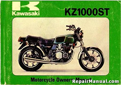 R99920-1057-02 1979 Kawasaki KZ1000-E1 Shaft Motorcycle Owners (Kawasaki Kz1000 Shaft)
