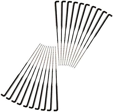Mehrfarbig Mehrere GLOREX Filznadel Fein//Mittel//Grob 14 x 5.5 x 0.3 cm