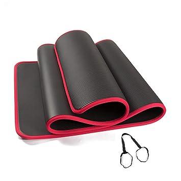 LIJJY NBR Estera de Yoga para la Salud y la Forma física ...
