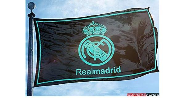 Bandera del Real Madrid 3 x 5 pies España Futbol Fútbol Bandera ...
