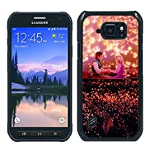 Disney Tangled Black Samsung Galaxy S6 Active Shell Case,Fashion Cover