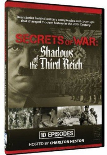 Secrets Of War - Shadows Of The Reich - 10 Episodes Charlton Heston Various MillCreek 53004