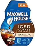 Maxwell House Iced Coffee Concentrate, Vanilla, 1.62 Ounce