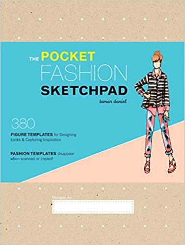 amazon the pocket fashion sketchpad 380 figure templates for