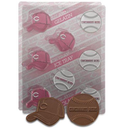 - MLB Cincinnati Reds Candy Mold (Pack of 2)