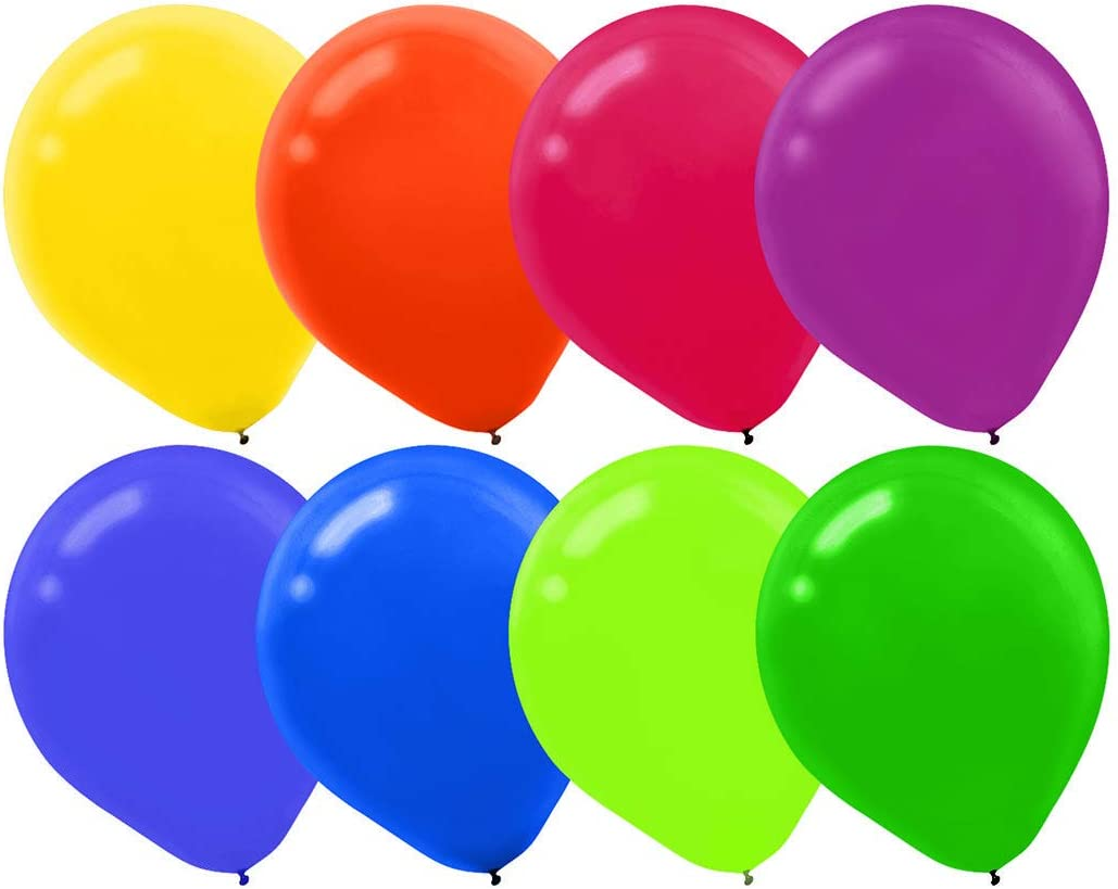 Party Balloons Assorted Color Latex Balloons Party Balloons for 50