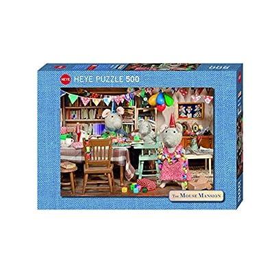 Heye 29705 Das Musehaus Geburtstagsfeier 500 Teile Puzzle By Heye Verlag
