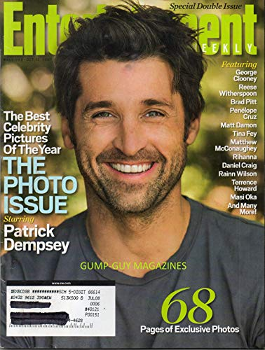Entertainment Weekly October 19 2007 (The Photo Issue Starring Patrick Dempsey)