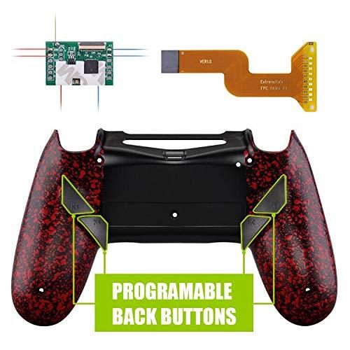 eXtremeRate Dawn Programable Remap Kit Reasignación de Botones para Playstaion 4 con Mod Chip&Carcasa Trasera diseñada&4 Botones Posterior Compatible ...