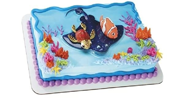 Awesome Amazon Com Cakedrake Finding Nemo Squirt On Stingray Birthday Personalised Birthday Cards Cominlily Jamesorg