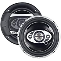 2) NEW BOSS AUDIO P65.4C 6.5 4-Way 400W Car Coaxial Speakers Stereo P654C