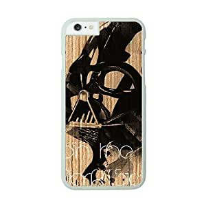 Star Wars Darth Vader Image On The iPhone 6 White Cell Phone Case AMW896895