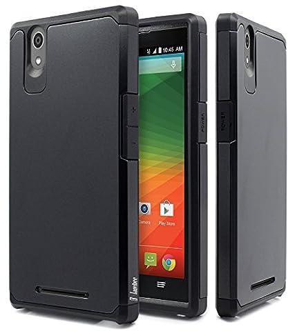ZTE ZMAX Case, ZMAX Z970 Case, NageBee Design Premium [Heavy Duty] Defender [Dual Layer] Protector Hybrid Cover Case For ZTE ZMAX / ZMAX Z970 (Zte Zmax Phone Case Z970)