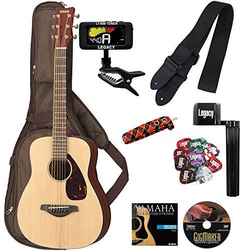 Yamaha JR2 3/4 Size Acoustic Guitar with Gig Bag and Legacy