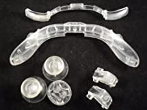 CLEAR Thumbsticks, D-Pad, Triggers, RB LB Kit for Xbox 360 Controller