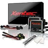 Xentec H1 10000K HID xenon bulb x 1 pair bundle with 2 x 35W Digital Ballast (Ocean Blue)