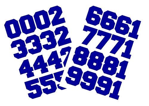 (Chalkallaboutit Sports Helmet Numbers 1.5