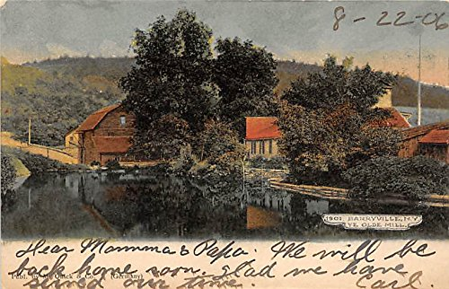 Ye Olde Mill Barryville, New York, Postcard