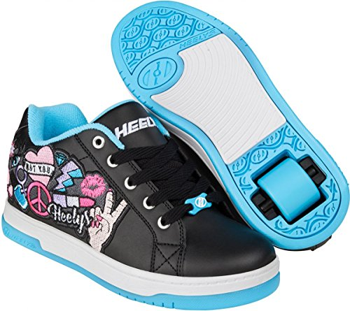Patch Split Heelys Zapatillas Para peace Morado Color Niï Marca aqua Modelo  He Morado Black ... 8619c71b32ec