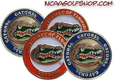 (4) Florida Gators Golf Ball Markers