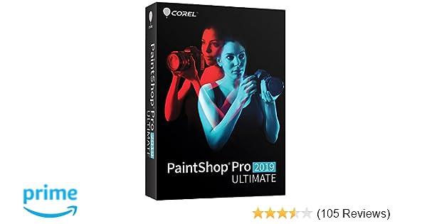 PaintShop Pro 2019 Ultimate - Photo Editing & Bonus Collection - Amazon  Exclusive [PC Disc] [Old Version]