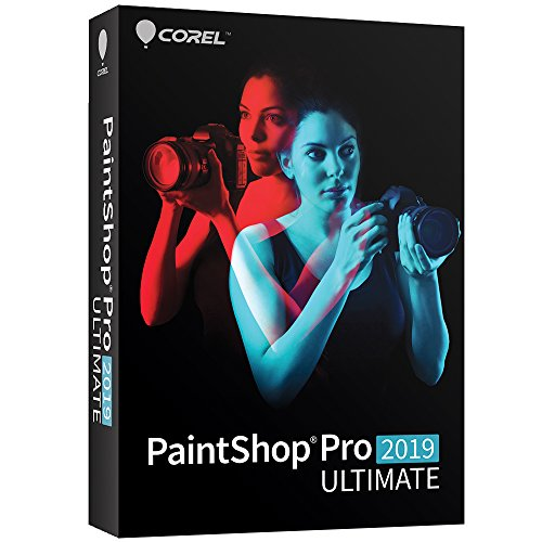 Software : Paintshop Pro 2019 Ultimate - Photo with Multi-Cam Video Editing Software for PC [Amazon Exclusive]
