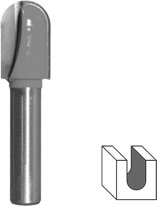 Ø 25,4 mm HM Hohlkehlfräser Schaft 8 mm Holz Nutenfräser Kugelfräser Oberfräse
