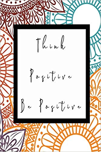Think Positive Be Positive 3D Isometric Graph Paper