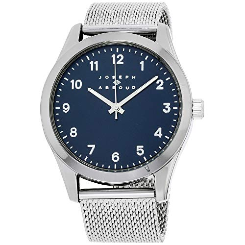 Joseph Abboud Navy Dial Stainless Steel Men's Watch JA3202S648-102