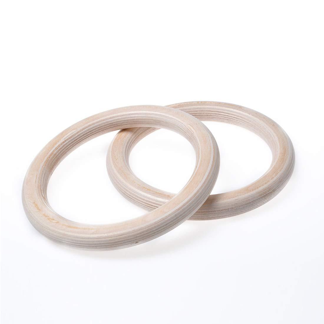 UICICI Ringe Haushaltsringe Yoga Ringe Aerial Yoga Fitness Ringe Massivholz Birkenringe