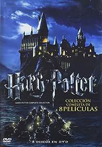 Harry Potter Colección 8 Peliculas Español Latino Movies Tv