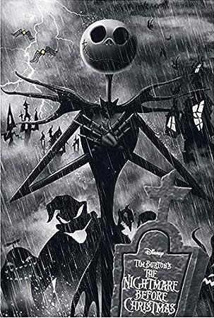 The Nightmare Before Christmas Jack Bedlinen black