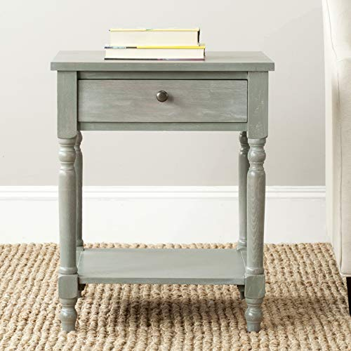 (Safavieh American Homes Collection Tami Ash Grey Accent Table)