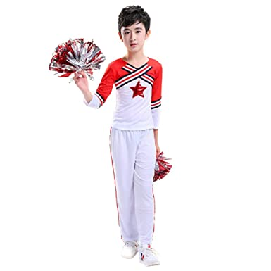 G Kids Madchen Jungen Cheerleader Kostum Cheerleading Cheerleader