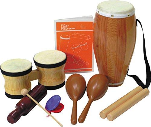 - Rhythm Band Elementary Latin Rhythm Set