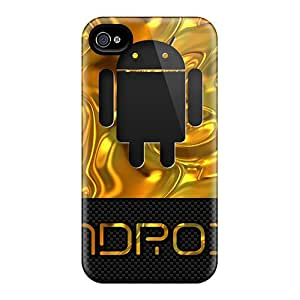 New Fashion Premium Cases Covers For Iphone 6 - Android Gold