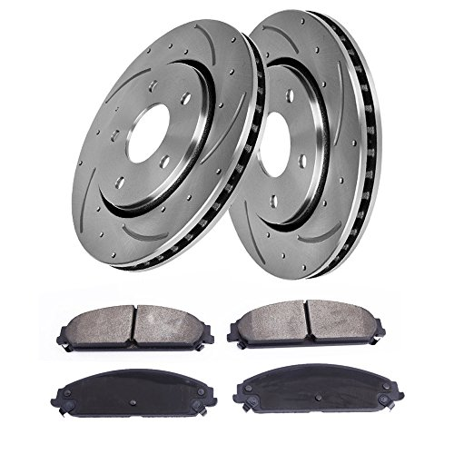05 Drilled Slotted Brake Rotors - 5