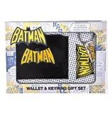 Batman Wallet and Keychain Set