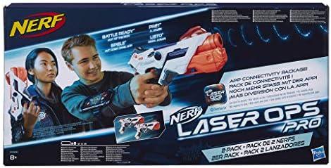 Nerf Laser Ops Pro - Pack 2 Lanzadores (Hasbro E2281EU4) , color/modelo surtido: Amazon.es: Juguetes y juegos