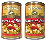 Roland Products, Hearts Of Palm, Pre Cut, Size - 14 OZ, Quantity - 3 Each