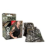 KT TAPE PRO Elastic Kinesiology Therapeutic Tape - 20 Pre-Cut 10-Inch Strips - Realtree Camo