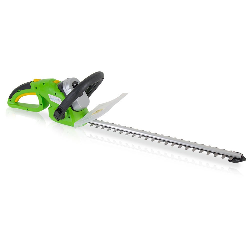 Serene Life Cordless Hedge Trimmer, Electric Trimming Hedger for Trees, Shrubs, Plants (PSLHTM36)