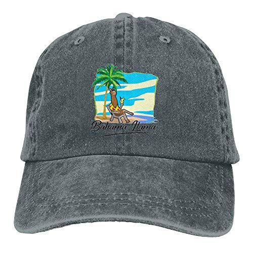 (Jiuyuan Alpaca Llama Baseball Cap for Men/Women Adjustable Unisex Plain Denim Dad Hats)